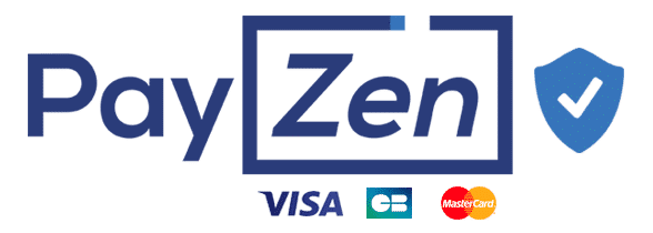 Tous vos paiements sont sécurisés par Payzen, opérateur français de paiement