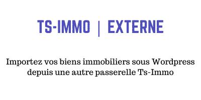 Passerelle Externe- Ts-Immo pour WordPress