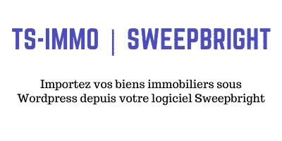 Passerelle Sweepbright pour WordPress